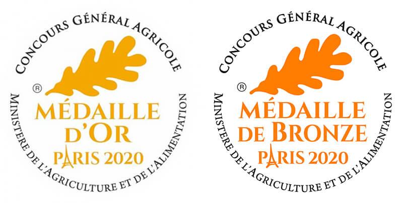 medailles 2020